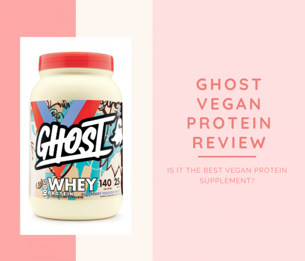 Ghost Vegan Protein Powder Review