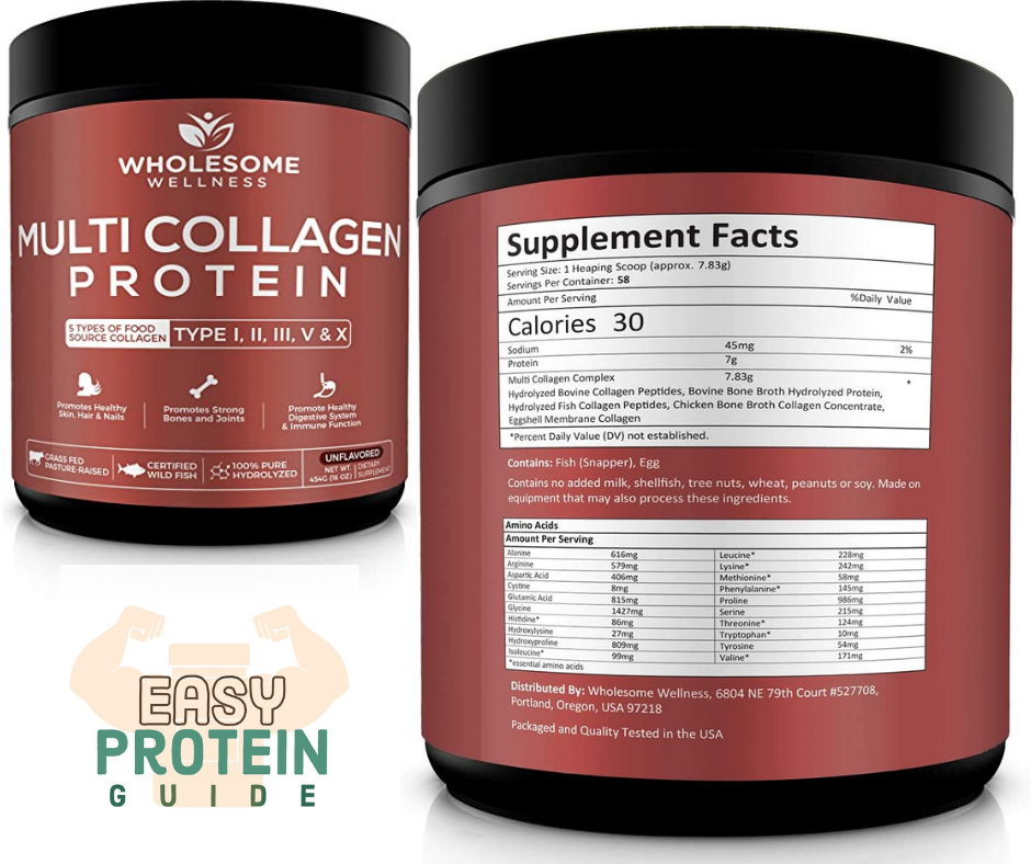 multi collagen protein powder hydrolyzed