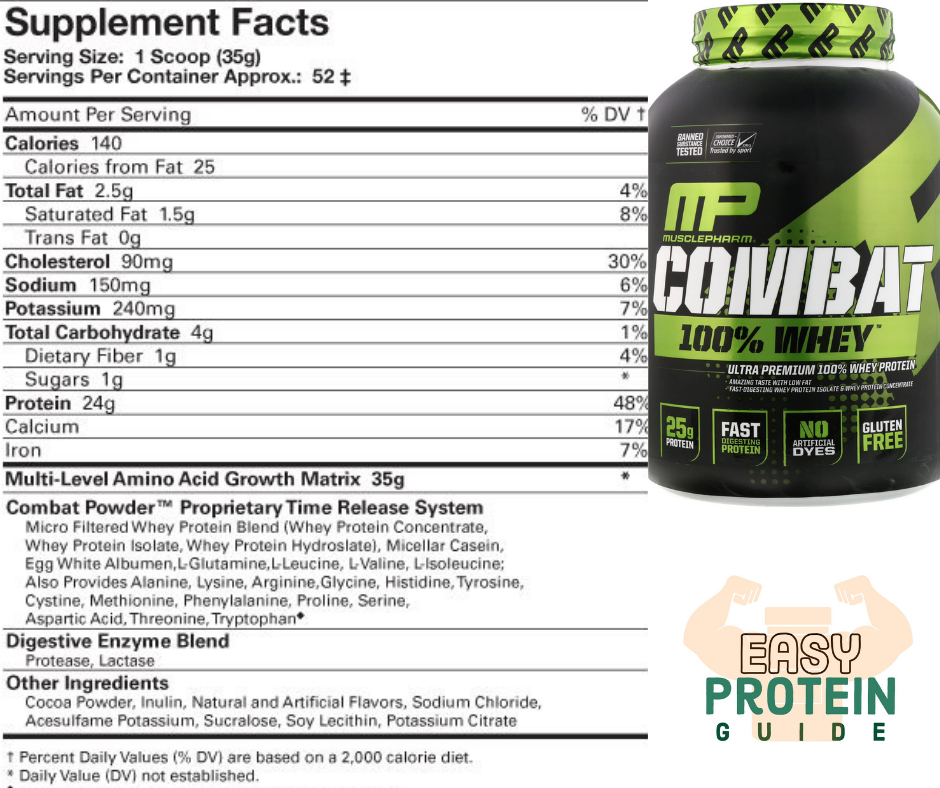 muscle pharm combat costco protein powder
