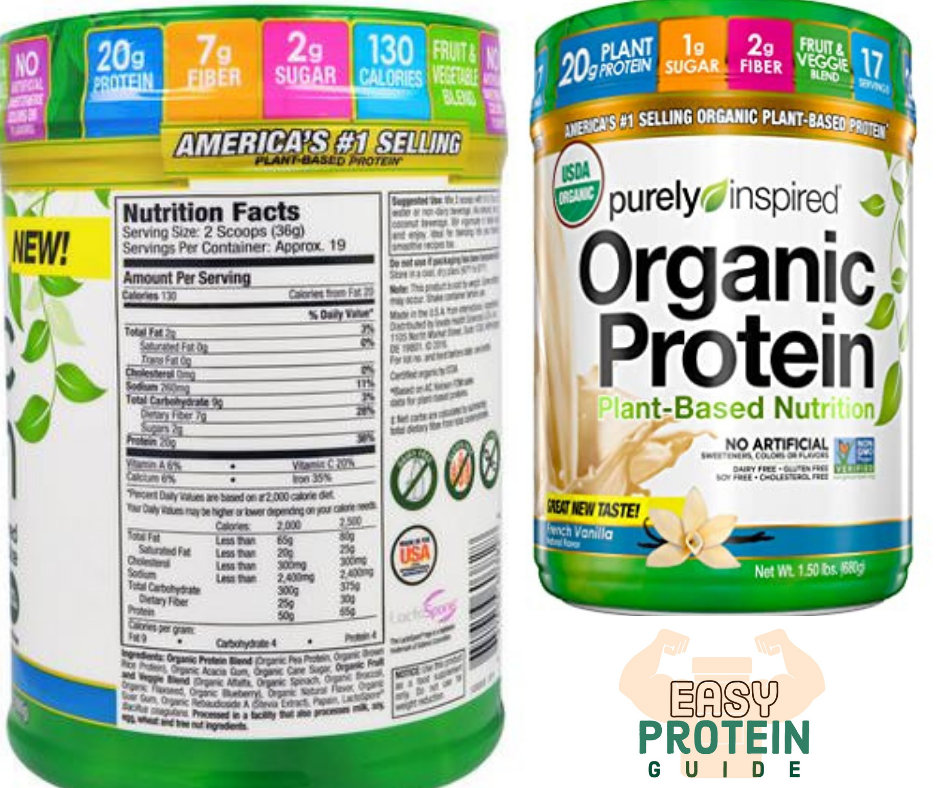 purely inspired organic costco protein powder