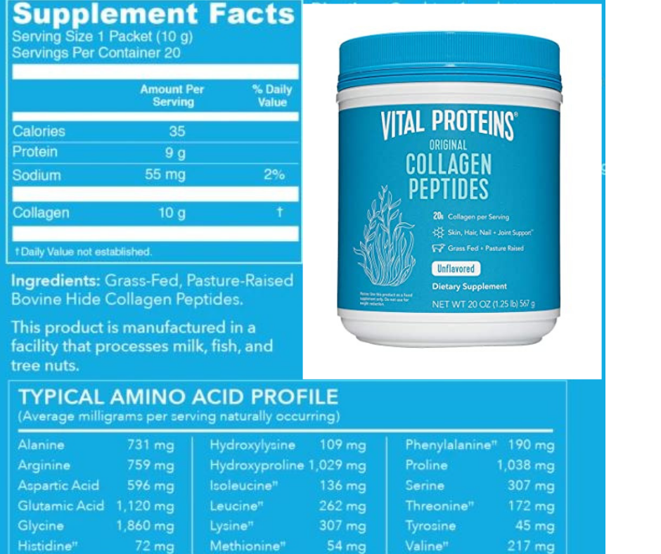vital proteins collagen protein powder