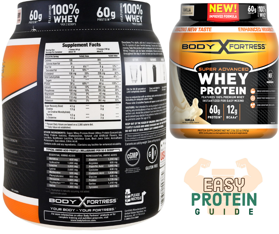 body fortress costco protein powder