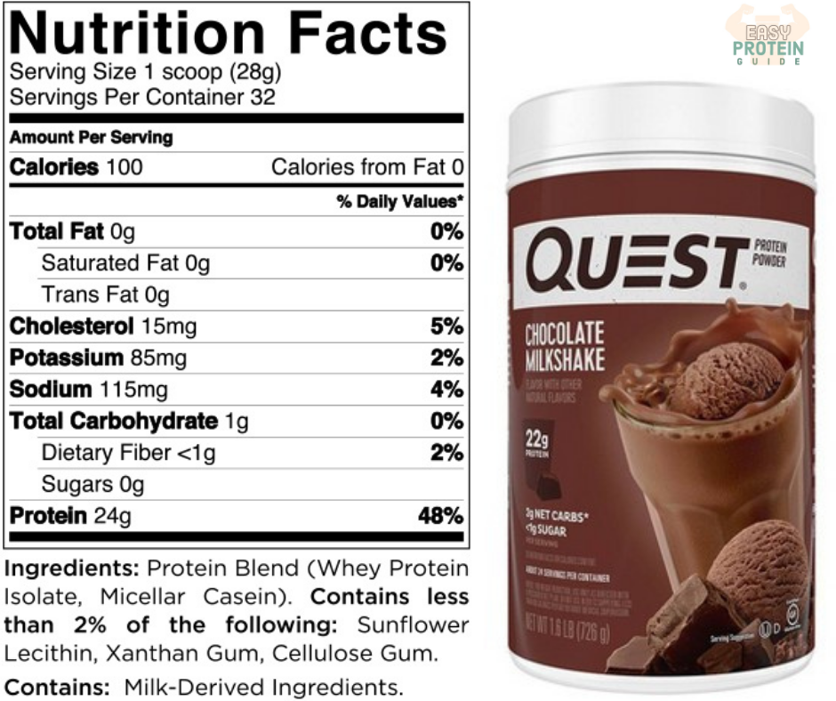 costco quest protein powder supplement